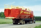 Husky Transport Ltd. hauling a 420bbl. pre-mix tank to a location in B.C.