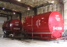 Husky Tank Rentals indoor tank cleaning and inspection facility in Fort St. John. B.C.